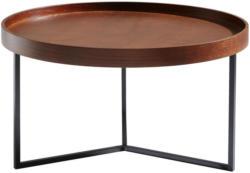 Couchtisch in Holz, Metall, Holzwerkstoff 78/78/42 cm