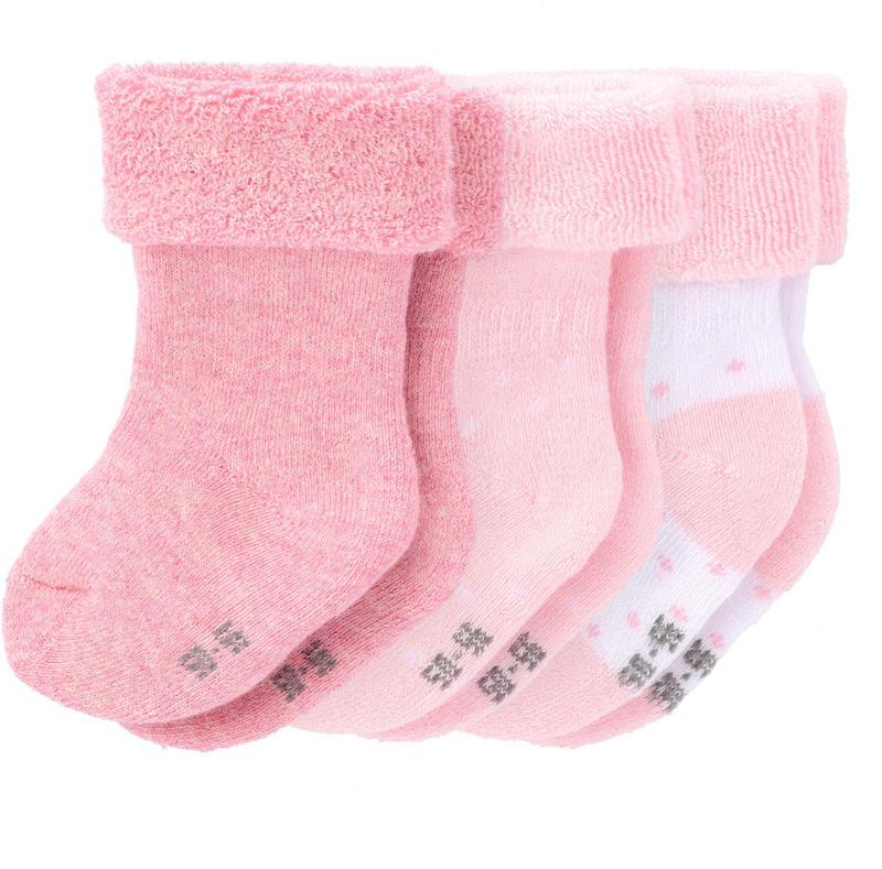3 Paar Newborn Socken mit Bio-Baumwolle