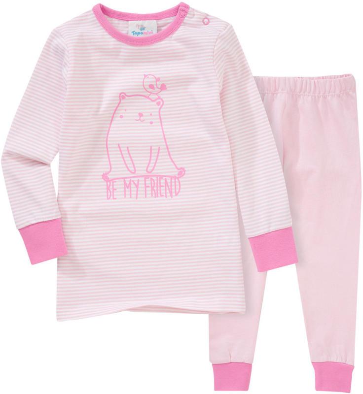 Baby Schlafanzug mit Bären-Print