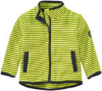 Ernsting's family Baby Fleecejacke im Ringel-Look