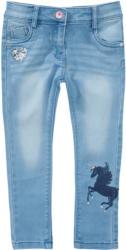 Mädchen Skinny-Jeans mit Einhorn-Motiv