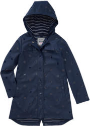 Mädchen Mantel mit Punkte-Allover