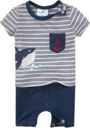 Newborn Overall mit Fisch-Print