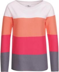 Damen Pullover mit Colourblock-Dessin (Nur online)