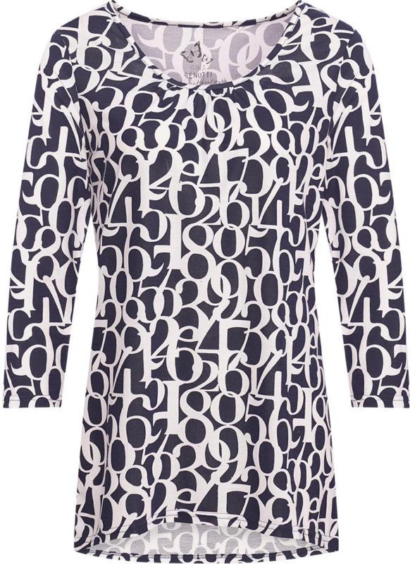 Damen Shirt mit Zahlen-Print (Nur online)