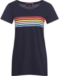 Damen T-Shirt mit bunten Streifen (Nur online)