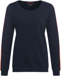 Damen Sweatshirt mit Galonstreifen