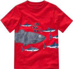 Jungen T-Shirt mit Haifisch-Print