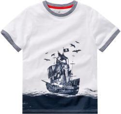 Jungen T-Shirt mit Piratenschiff-Motiv
