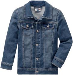 Jungen Jeansjacke mit leichter Used-Waschung