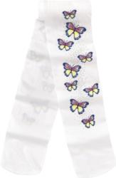 Mädchen Strumpfhose mit Schmetterling-Motiven
