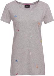 Damen T-Shirt mit gestickten Schwalben