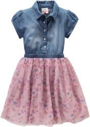 Festliches Mädchen Kleid mit glitzerndem Tüll