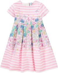 Festliches Mädchen Kleid mit Blumen-Print
