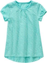 Mädchen T-Shirt mit Blumen allover