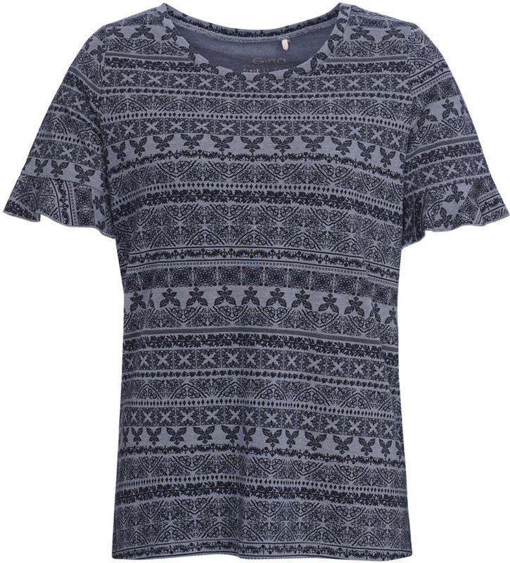 Damen T-Shirt mit Volant