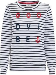 Damen Sweatshirt mit Flock-Print (Nur online)