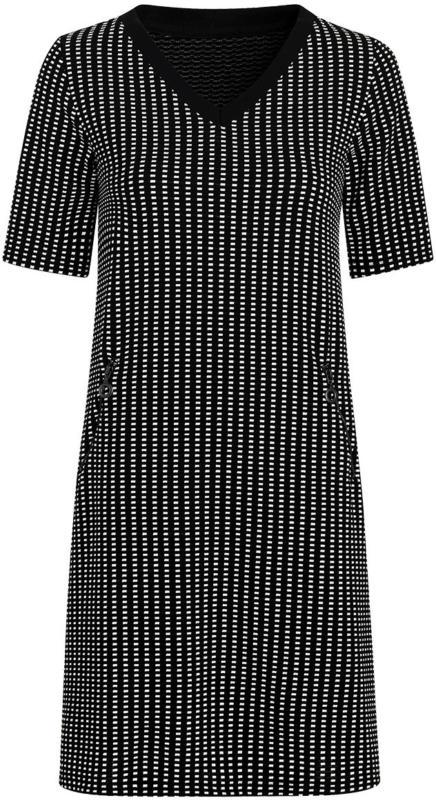 Damen Kleid mit Allover-Dessin (Nur online)