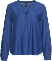 Damen Bluse mit kurzer Knopfleiste