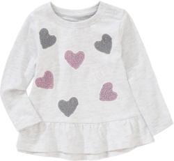 Baby Langarmshirt mit Volant