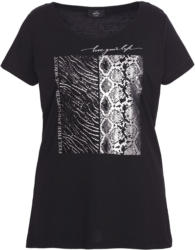 Damen T-Shirt mit Pailletten