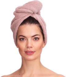 Handtuch-Turban mit Knopf