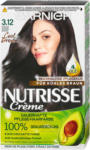 dm Garnier Nutrisse Creme dauerhafte Pflege-Haarfarbe - 3.12 Kühles Dunkelbraun
