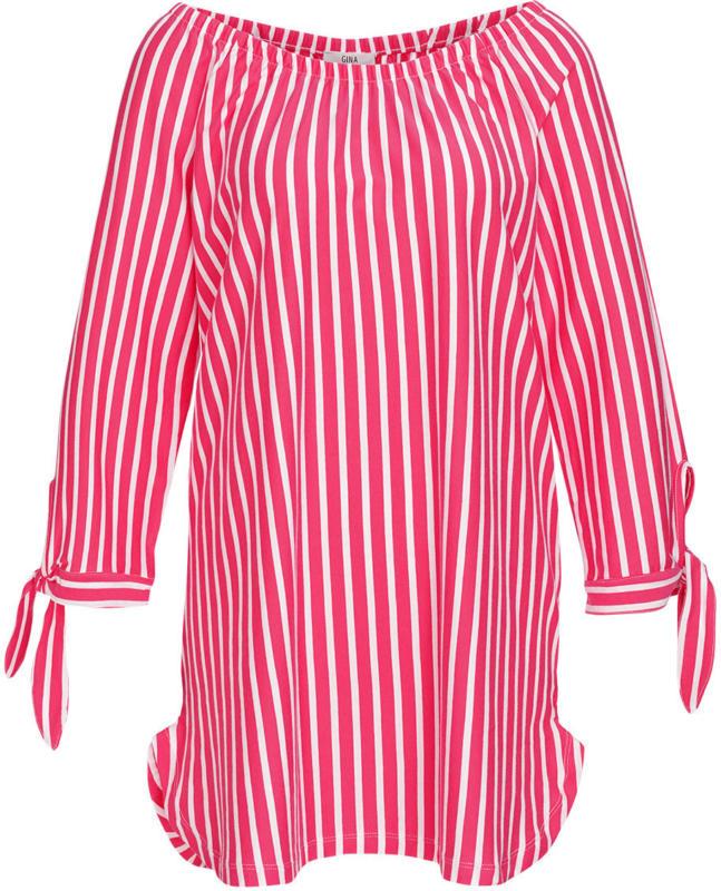 Damen Shirt mit Längsstreifen (Nur online)