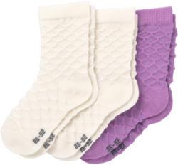 3 Paar Baby Socken mit Bio-Baumwolle