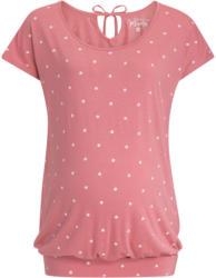 Damen Umstands-T-Shirt mit Pünktchen allover (Nur online)
