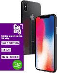 Saturn iPhone X 64 GB Space Grau inkl. gratis 24 Monate GeOrg Telefonie