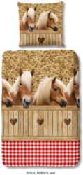 Bettwäsche Horses 140/200cm Pferde