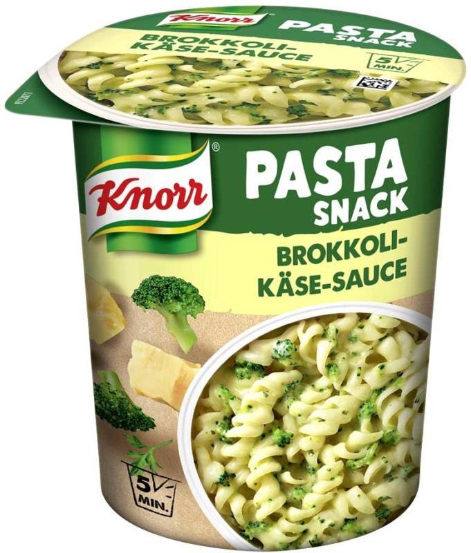 Knorr Pasta Snack versch. Sorten, jeder Becher