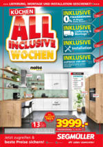 Segmüller - Küchen All Inclusive Wochen