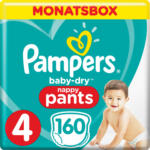 OTTO'S Pampers t. 4 Baby Dry Pants maxi 9-15 kg conf. mensile 160 pezzi -