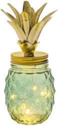 Ananas décoratif vert avec LED -
