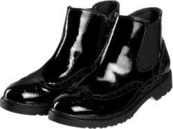 Damen Chelsea-Boots in Lack-Optik
