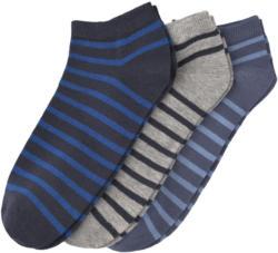 3 Paar Herren Sneaker-Socken