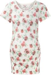 Damen Umstands-T-Shirt mit Blumen-Motiv