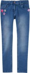 Mädchen Skinny-Jeans mit Stern-Pailletten