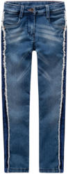 Mädchen Skinny-Jeans mit Galonstreifen