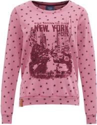 Damen Sweatshirt mit Stern-Allover