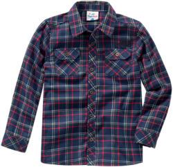 Jungen Hemd im Karo-Dessin