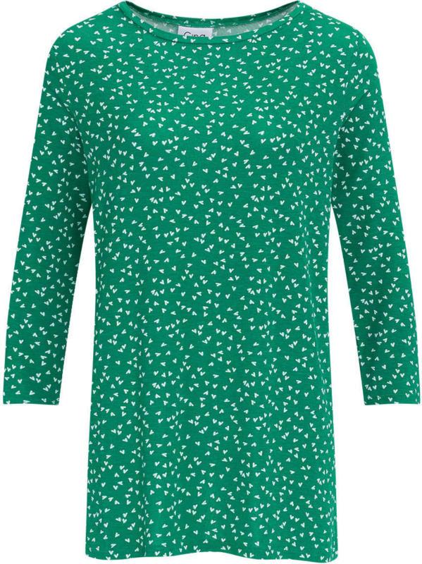 Damen Shirt mit 3/4-Ärmeln