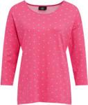 Ernsting's family Damen Shirt mit Punkte-Allover