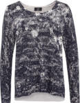 Ernsting's family Damen Pullover mit Ziersteinchen