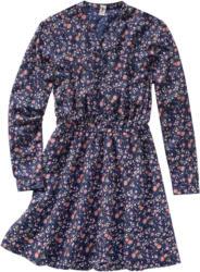 Mädchen Kleid im Millefleur-Dessin