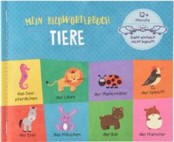 Babybuch Tiere aus reißfestem Material