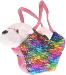 Plüschtier Hund mit Tasche