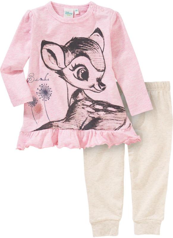 Bambi Schlafanzug mit Rüschen